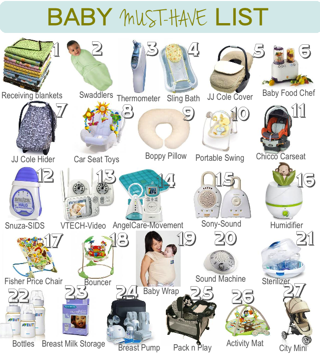kids items which start off with a