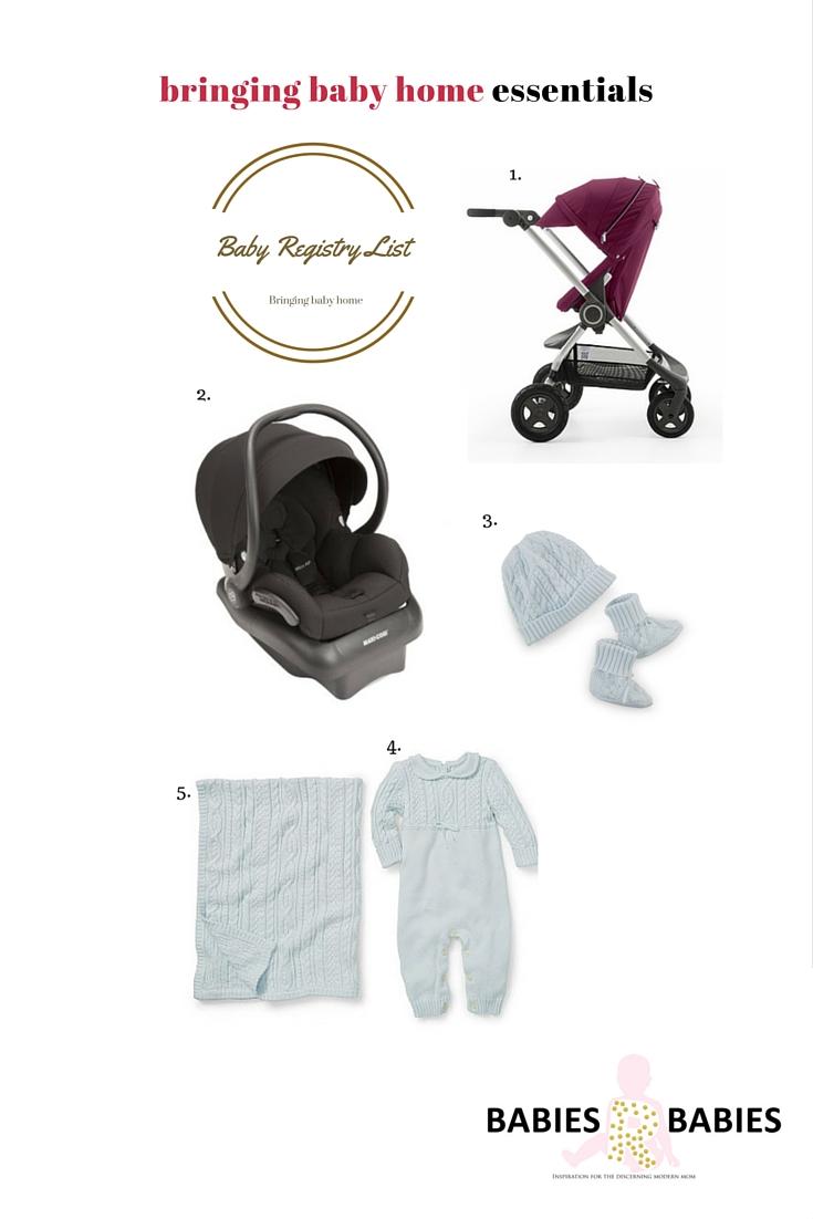 Baby Registry List - Nursery Design Studio • bellybrief