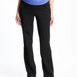 Maternity Roll Panel Yoga Pants Old Navy Bellybrief