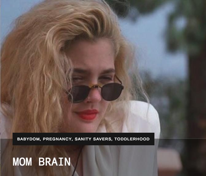 MOM BRAIN – THE REBEL MAMA
