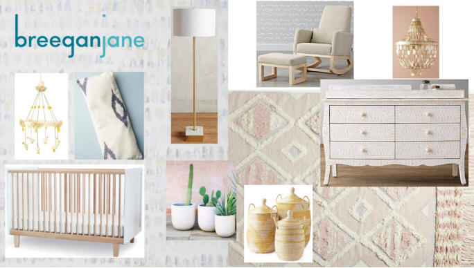 Baby Nursery Design With a Sophisticated Style Twist