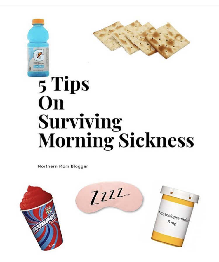 5 Tips For Surviving Morning Sickness