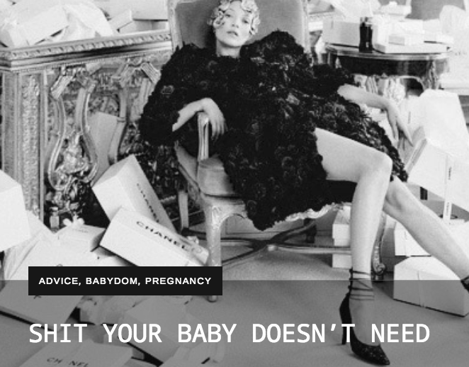 SHIT YOUR BABY DOESN'T NEED – THE REBEL MAMA